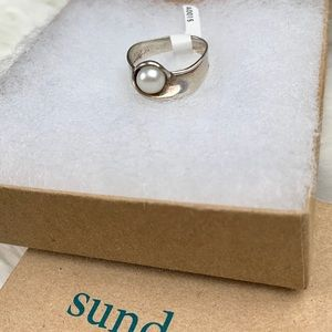 Sundance Pearl's Nest Sterling Silver Ring NWT